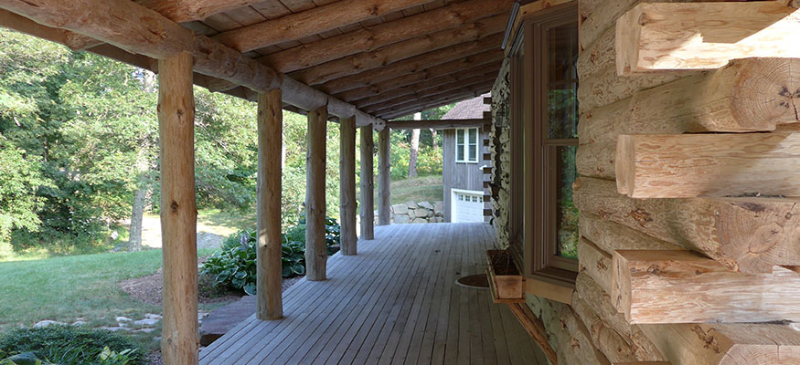 Oestara Main House Porch